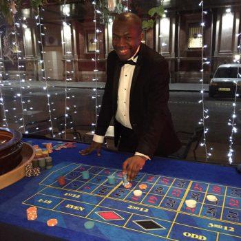 Roulette table hire London2