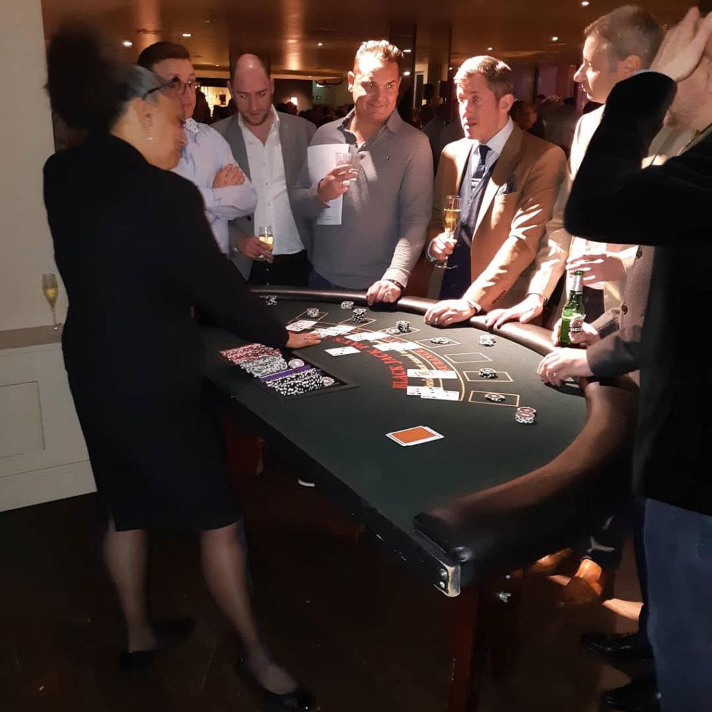 fun casino nights london